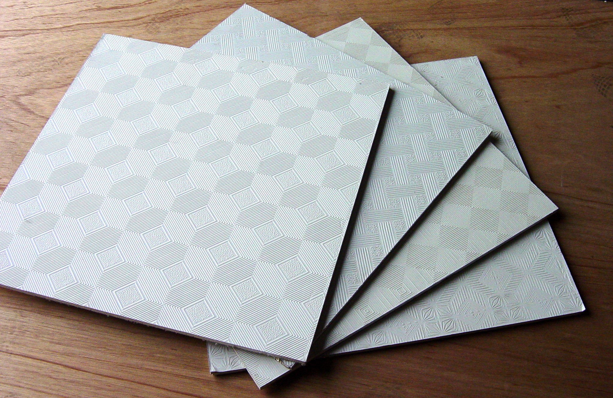 How to cut plastic ceiling tiles