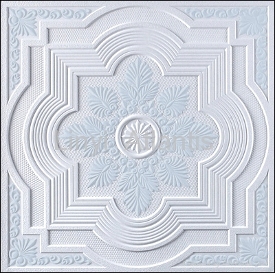 GRG_gypsum_fiber_ceiling_tiles